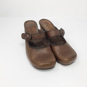 Women's Bare Traps Giddy Leather Shoes S 8 M Brown